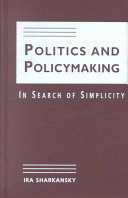 Politics and Policymaking