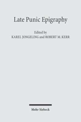 Late Punic Epigraphy PDF