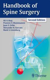 Handbook of Spine Surgery: Edition 2