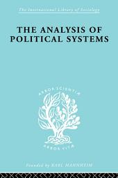The Analysis of Political Systems