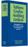 Vahlens gro  es Auditing Lexikon PDF