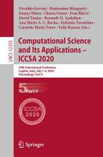 Computational Science and Its Applications     ICCSA 2020 PDF