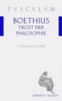 Der Trost Der Philosophie
