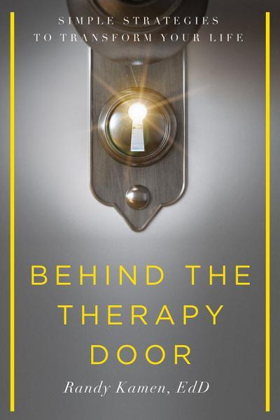 Download Behind the Therapy Door Book