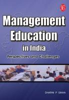 Management Education in India   Perspectives and Challenges PDF