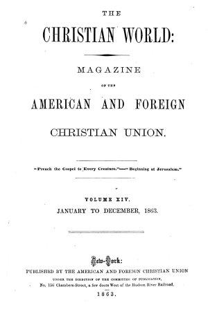 The Christian World