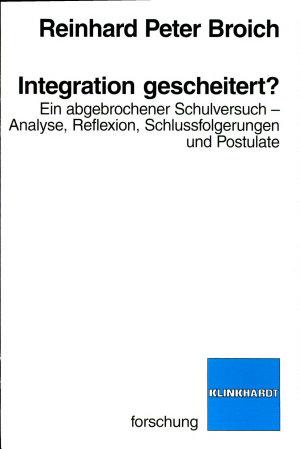 Integration gescheitert  PDF