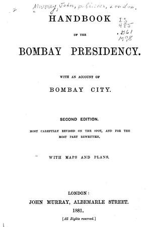 Handbook of the Bombay Presidency PDF