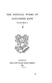 Poetical Works: Volume 1