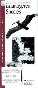 Endangered Species Book