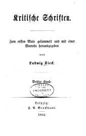 Kritische Schriften: Band 3