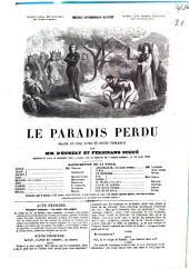 Le paradis perdu: drame en cinq actes et douze tableaux