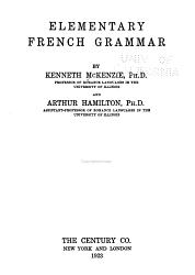 Elementary French Grammar PDF