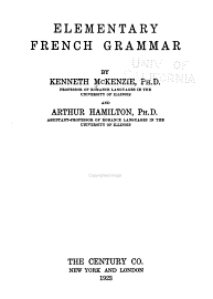 Elementary French Grammar