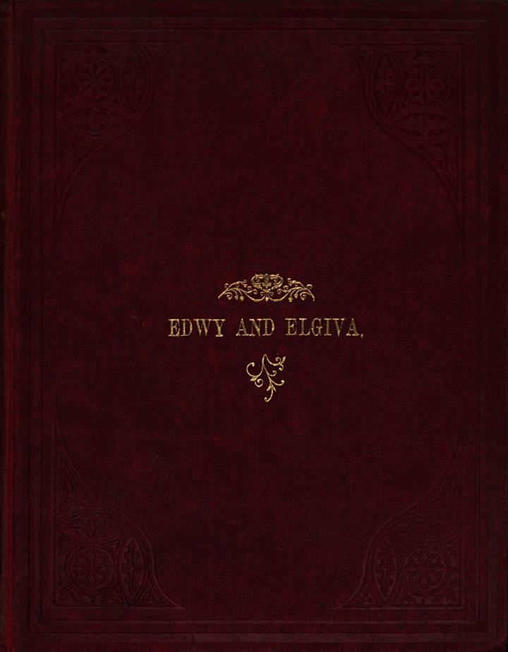 Edwy and Elgiva, by B........ and A........
