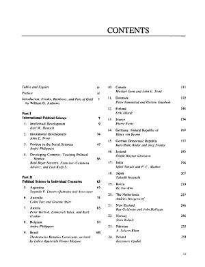 International Handbook of Political Science PDF