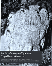 ... La lápida arqueolǵica de Tepatlaxco-Orizaba