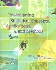 Investigating Statistical Concepts  Applications  and Methods PDF