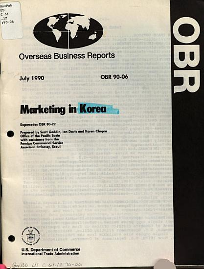 Marketing in Korea PDF