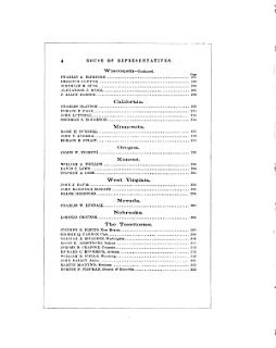 The American Government      Biographies of members of the House of representatives of the Forty third Congress Book