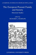 The European Peasant Family and Society