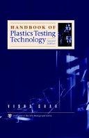 Handbook of Plastics Testing Technology