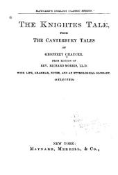 The Knightes Tale from the Canterbury Tales