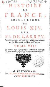Histoire de France, sous le regne de Louis XIV