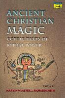 Ancient Christian Magic PDF