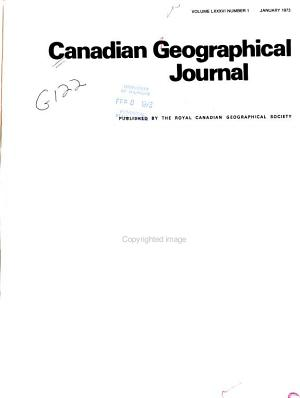Canadian Geographical Journal PDF
