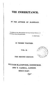 The inheritance, by the author of Marriage: Volume 2