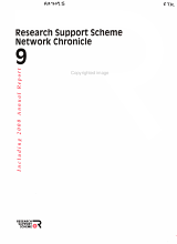 Research Support Scheme Network Chronicle PDF