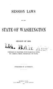 Session Laws of the State of Washington