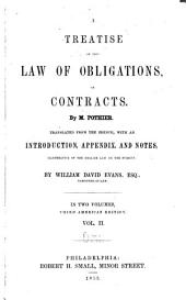 A Treatise on the Law of Obligations, Or Contracts: Volume 2