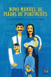 Novo manuel de piadas de português: E piadas portuguesas de brasileiros