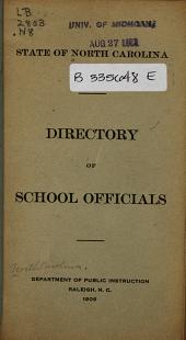Educational Directory of North Carolina