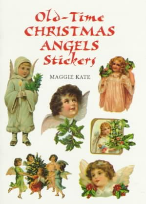 Old Time Christmas Angels Stickers