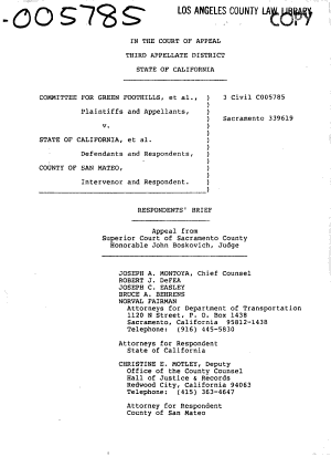 California  Court of Appeal  3rd Appellate District   Records and Briefs PDF