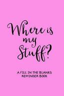 Where s My Stuff  Pink  PDF
