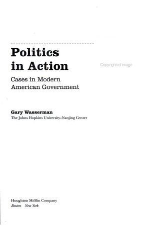 Politics in Action PDF