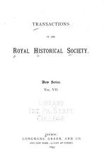 Transactions of the Royal Historical Society PDF