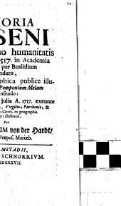 Memoria Neseni: qui in primo humanitatis Collegio, a. 1517 in Academia Lovaniensi ... primus geographica publice illustrare coepit, Pomponium Melam recensendo