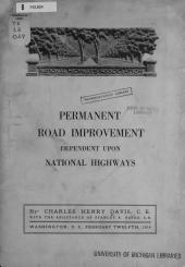 Permanent Road Improvement Dependent Upon National Highways
