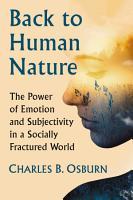 Back to Human Nature PDF