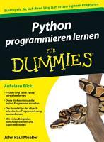Python programmieren lernen f  r Dummies PDF