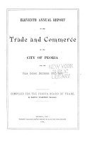 Annual Report of the Trade and Commerce of the City of Peoria PDF