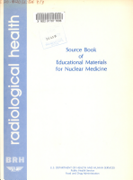 Source Book of Educational Materials for Nuclear Medicine PDF