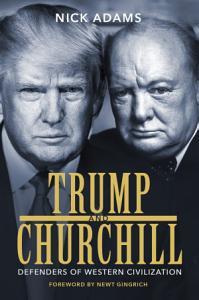 Trump and Churchill Book