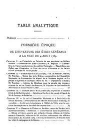 Histoire de la révolution dans l'Ain: Du 5 mai 1789 au 14 juillet 1790