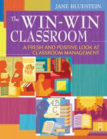 The Win Win Classroom PDF